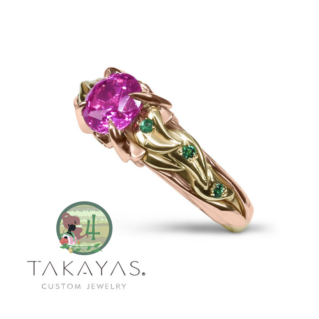 Sailor Moon Inspired Ring by Takayas Mizuno.