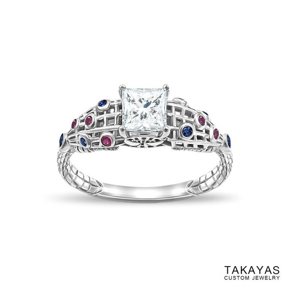 Custom Spider-Man Inspired Ring by Takayas Custom Jewelry