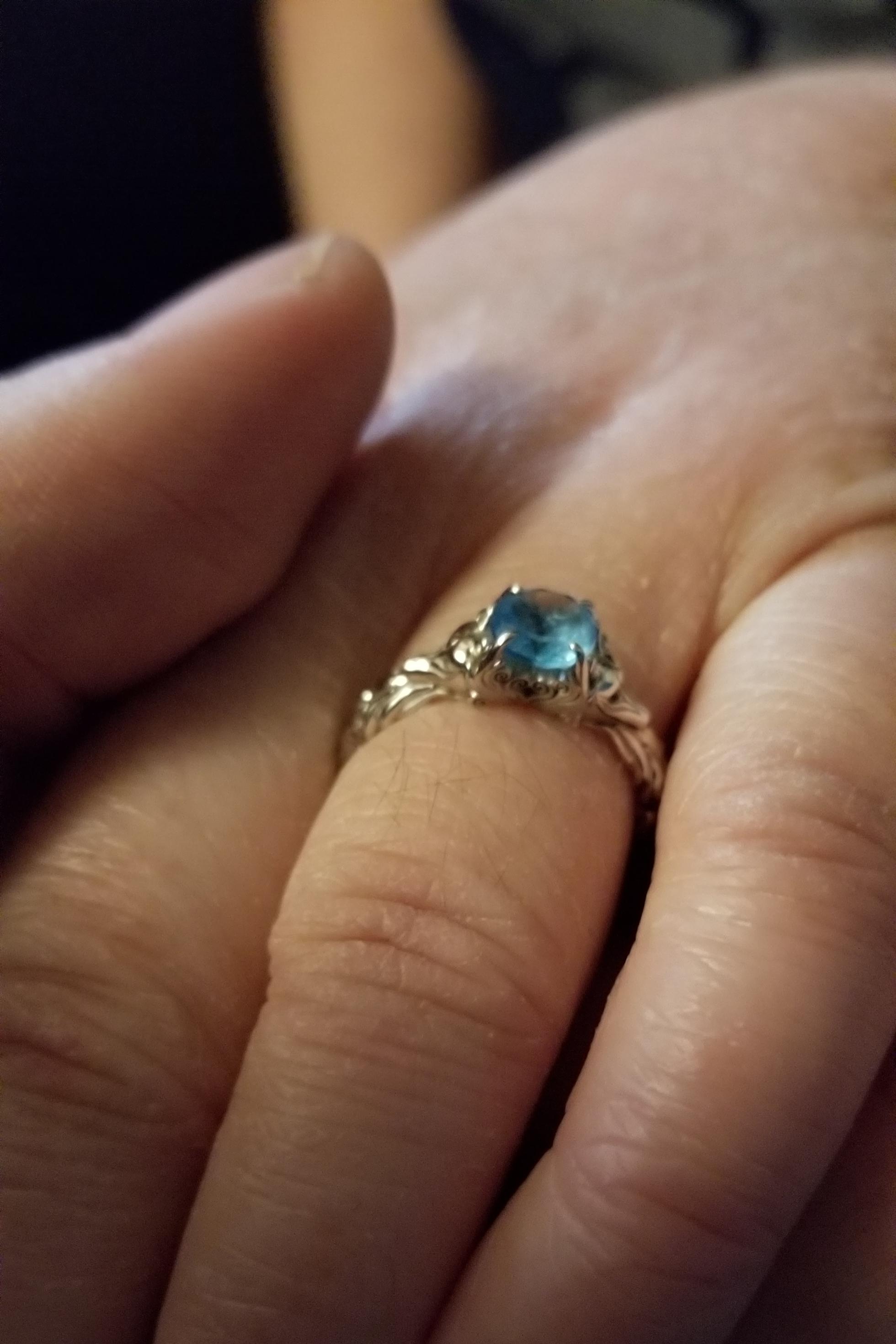 Custom Kitsune Engagement Ring by Takayas Custom Jewelry