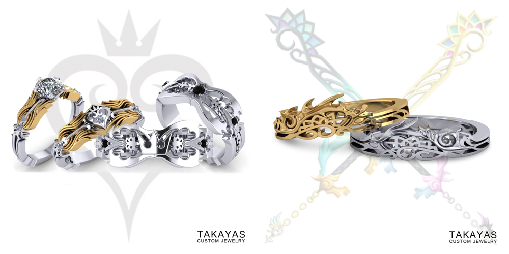 Takayas-Custom-Jewelry-Kingdom-Hearts-Oathkeeper-Oblivion-Nightmare-Break-Mirage-Split