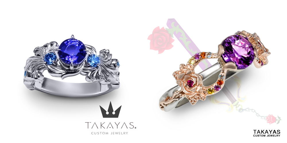Takayas-Custom-Jewelry-Kingdom-Hearts-Brightcrest-Divine-Rose-Engagement-Ring