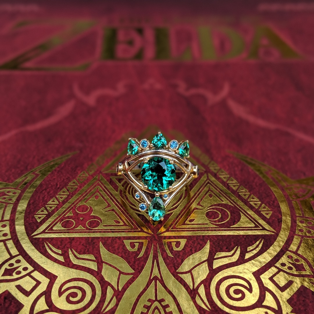 Takayas-Custom-Jewelry-Legend-of-Zelda-Sheikah-Eye-Inspired-Engagement-Ring