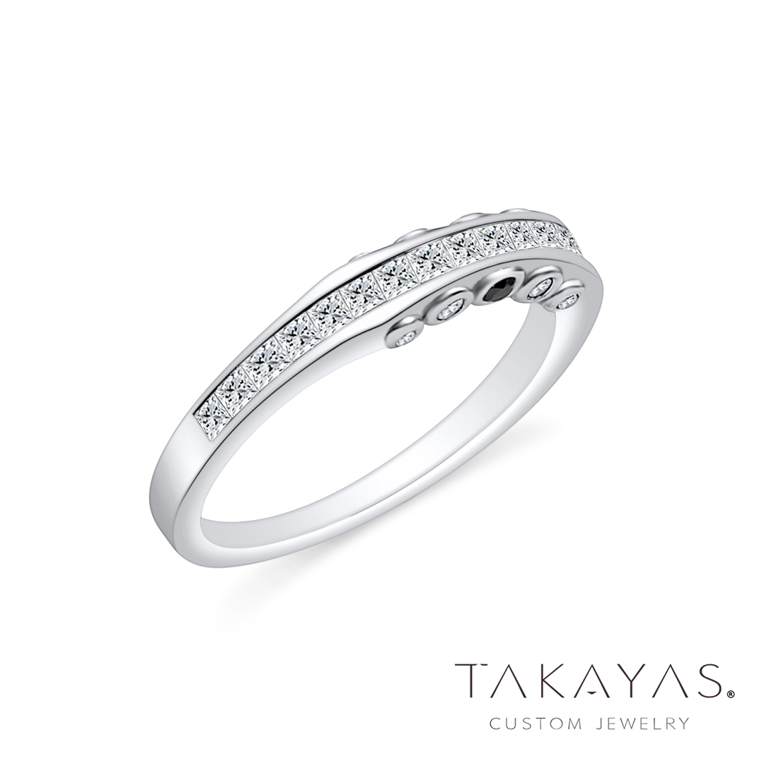 Takayas-Custom-Jewelry-Black-White-Diamond-Custom-Bridal-Set