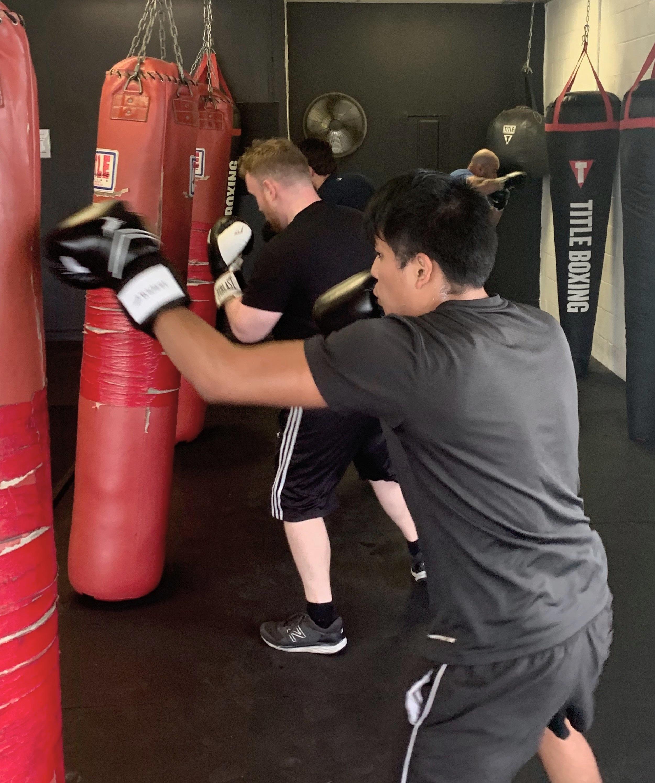 Cardio Kick Boxing -