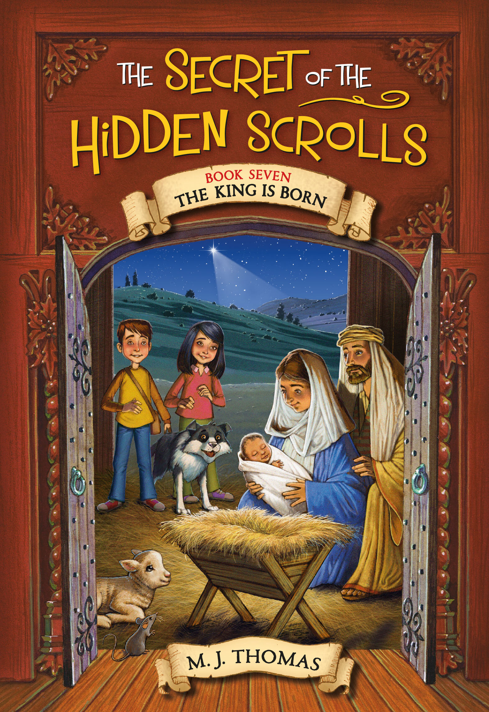 Big Announcement!Book 7 Now Available! - In The King is Born, Peter, Mary, and Hank journey back in time to Bethlehem, where the Roman Empire rules and a new King is about to be born. Follow along as the time-traveling trio discovers the newborn King, helps the Magi, and runs into a dangerous Roman Commander.