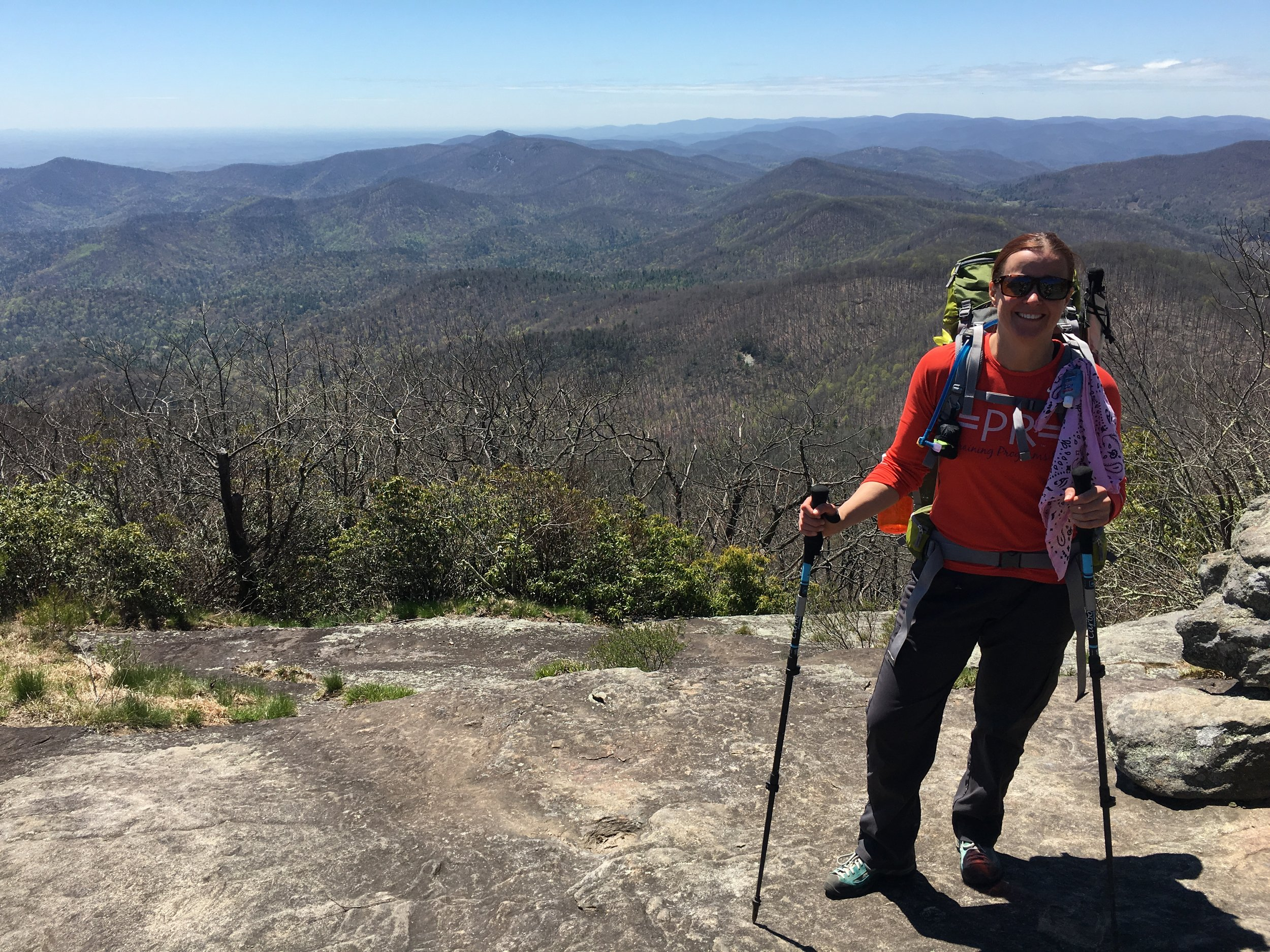""" I Quit My Job at 43 to Hike the Appalachian Trail "" ( Prevention )  Another gnat buzzes in my ear, wings whirring like tiny helicopter blades poised to cut. I raise my arm to wave it away but really, what's the point?"
