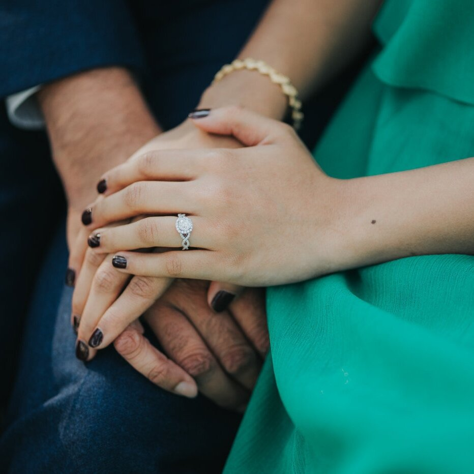 1. GET YOUR NAILS DONE! - Your favorite guy spent lots of time and effort choosing a ring that was just right for you, treat yourself to a manicure to show it off perfectly!