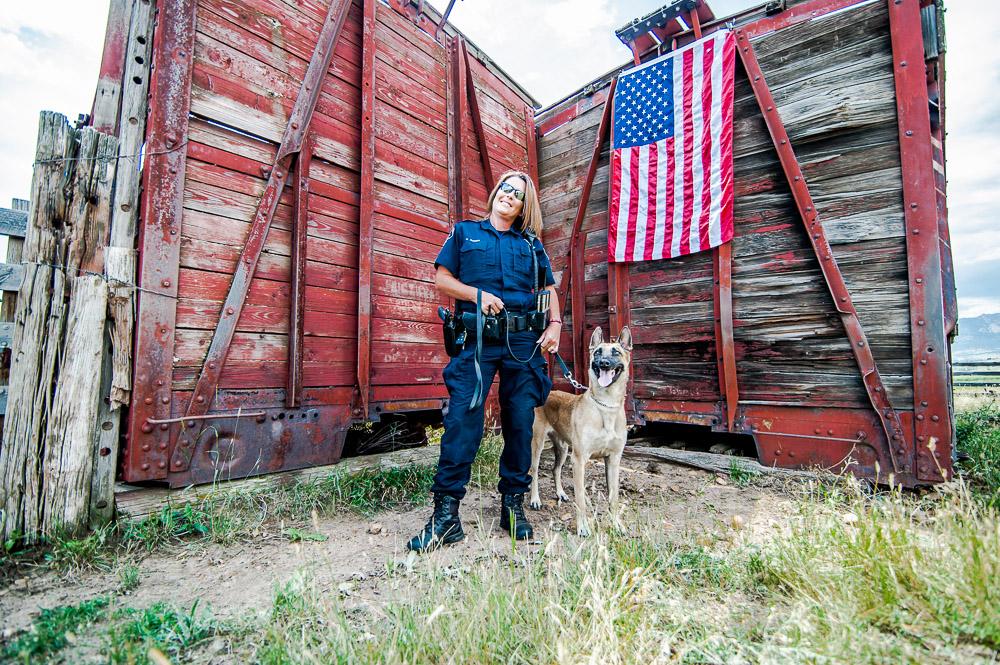 Deputy Boden &K9 Halo