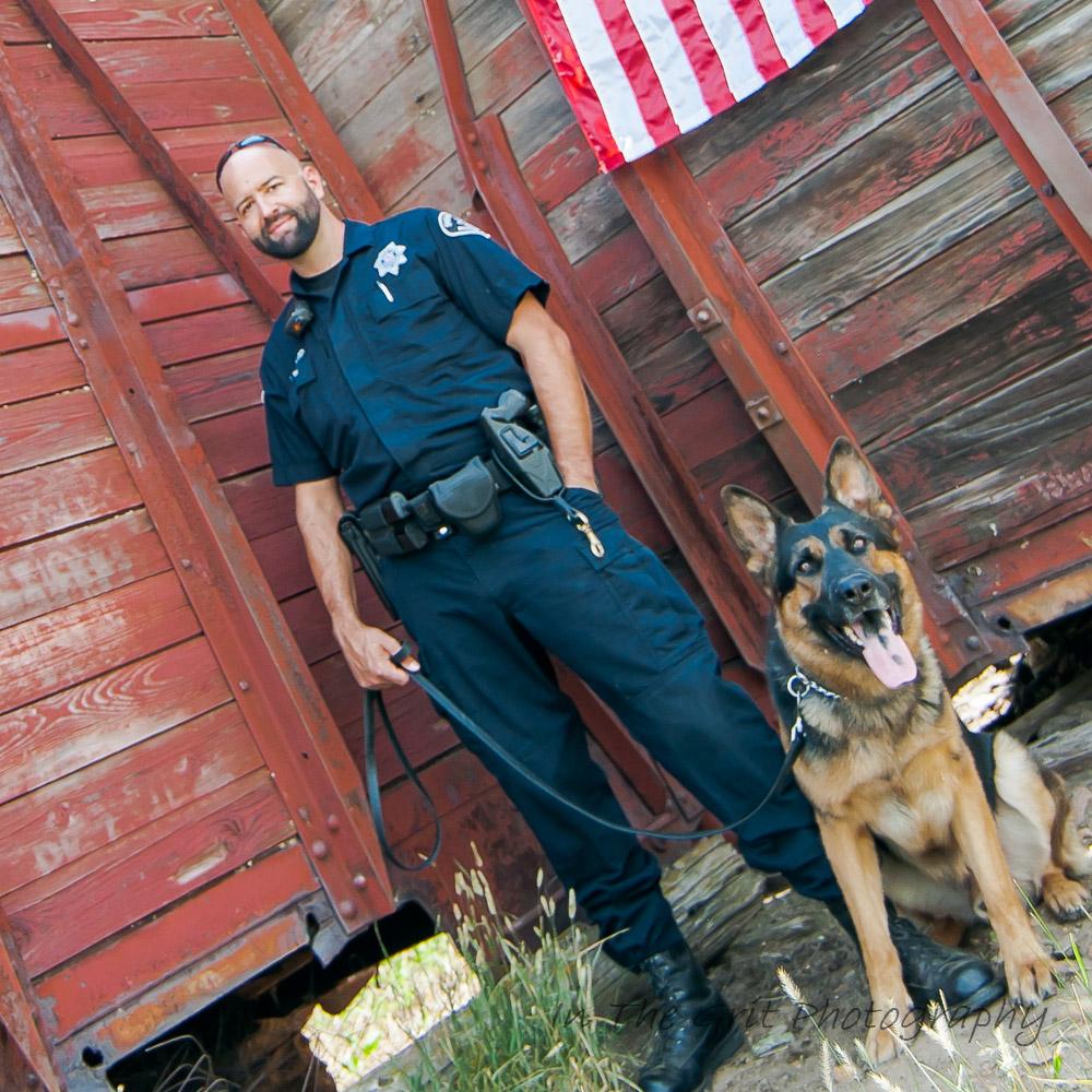 Deputy Woodard &K9 King