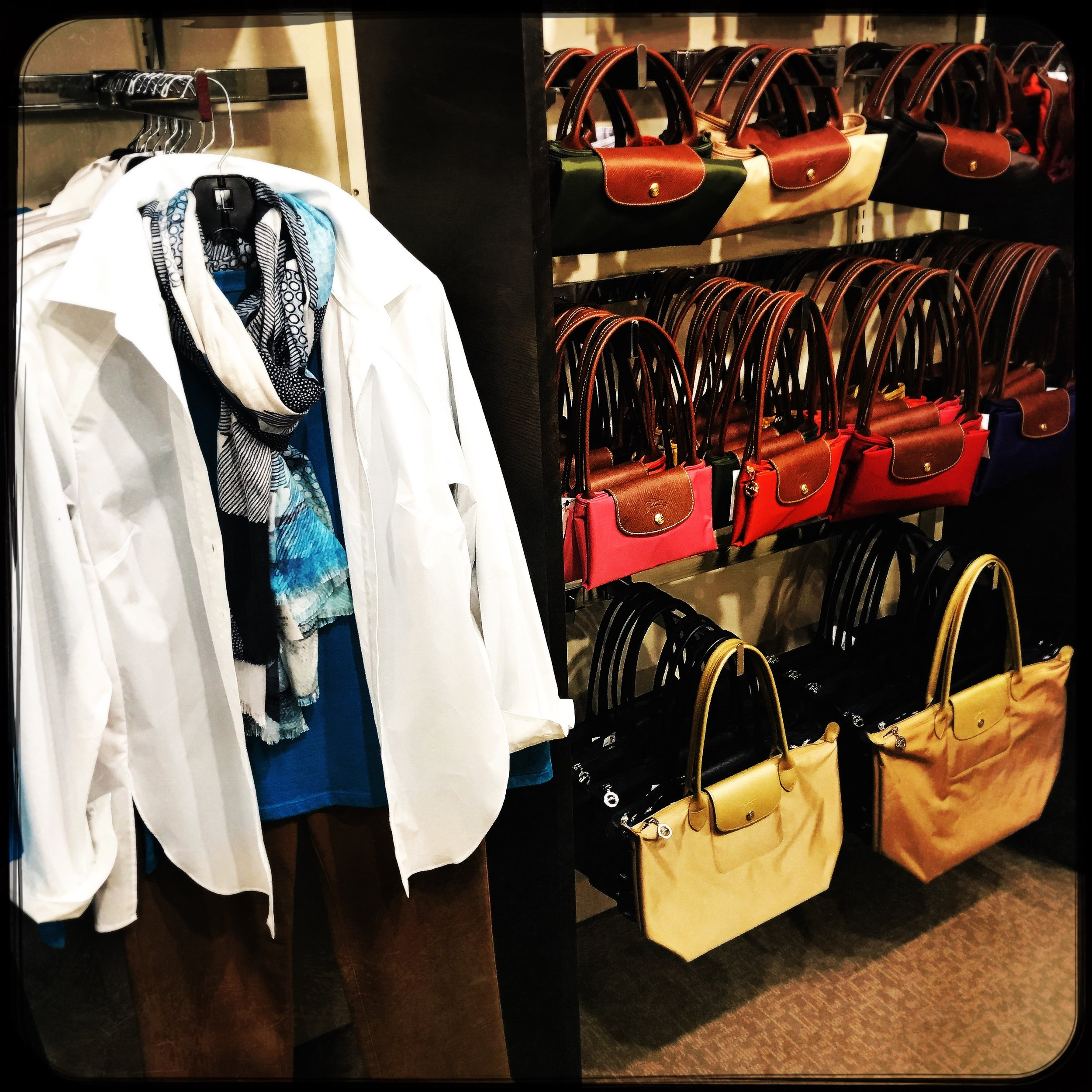 Couture by Hanny's - Luxury, style, and classic elegance is Couture by Hanny's, Rochester's finest upscale boutique. Exclusive to the downtown subway and skyway system, Couture has the largest selection of American and European brands including Lafayette 148, J'envie, and the largest collection of Longchamp of Paris. We offer specialized services such as one-­on-­one wardrobing, fit recommendations, and special orders.Shop during business hours or by private appointment.