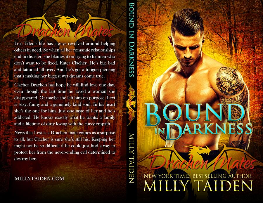 Milly Taiden - Bound in Darkness - Drachen Mates 4 - CreateSpace.jpg