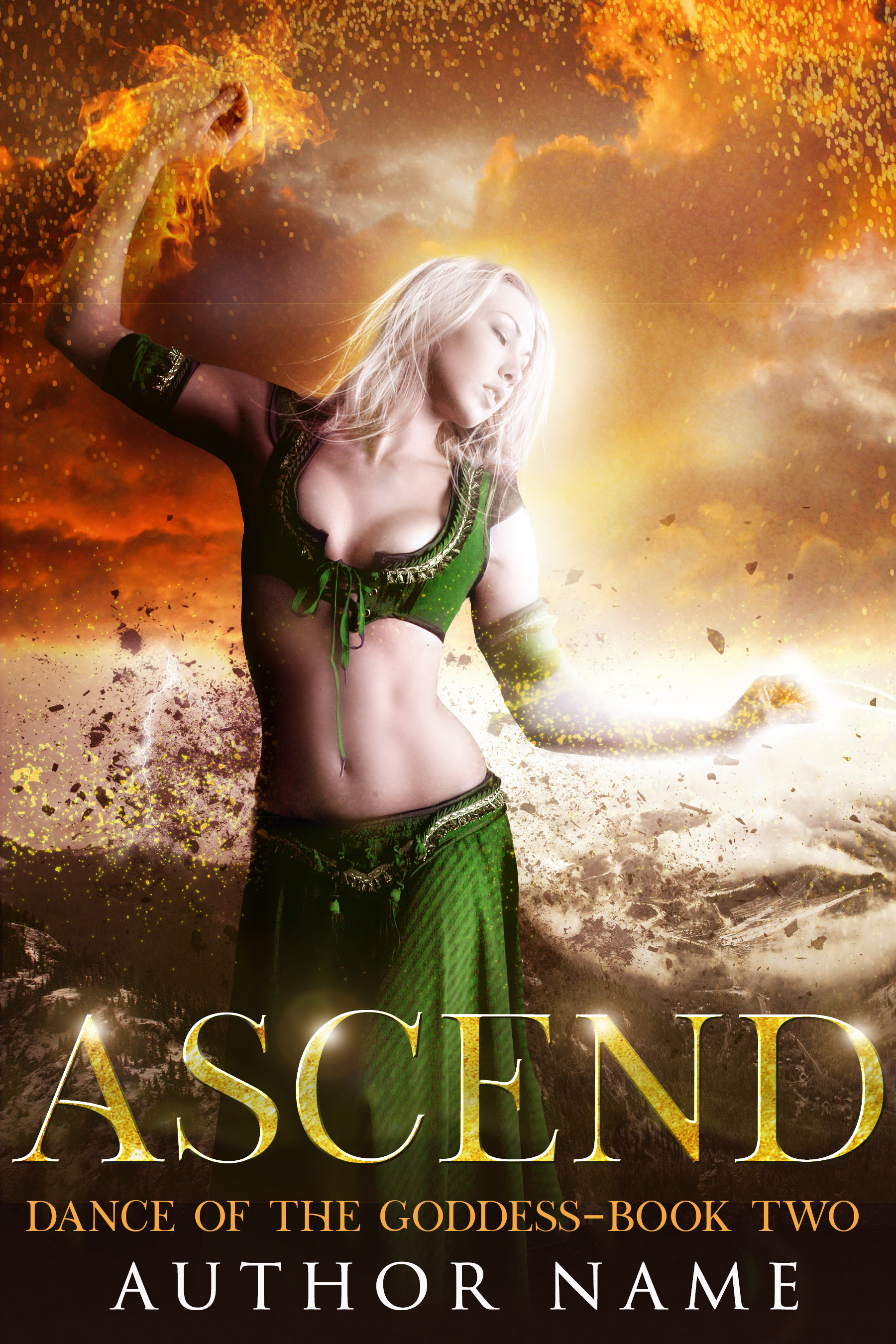$350 - for the 3 book Goddess series