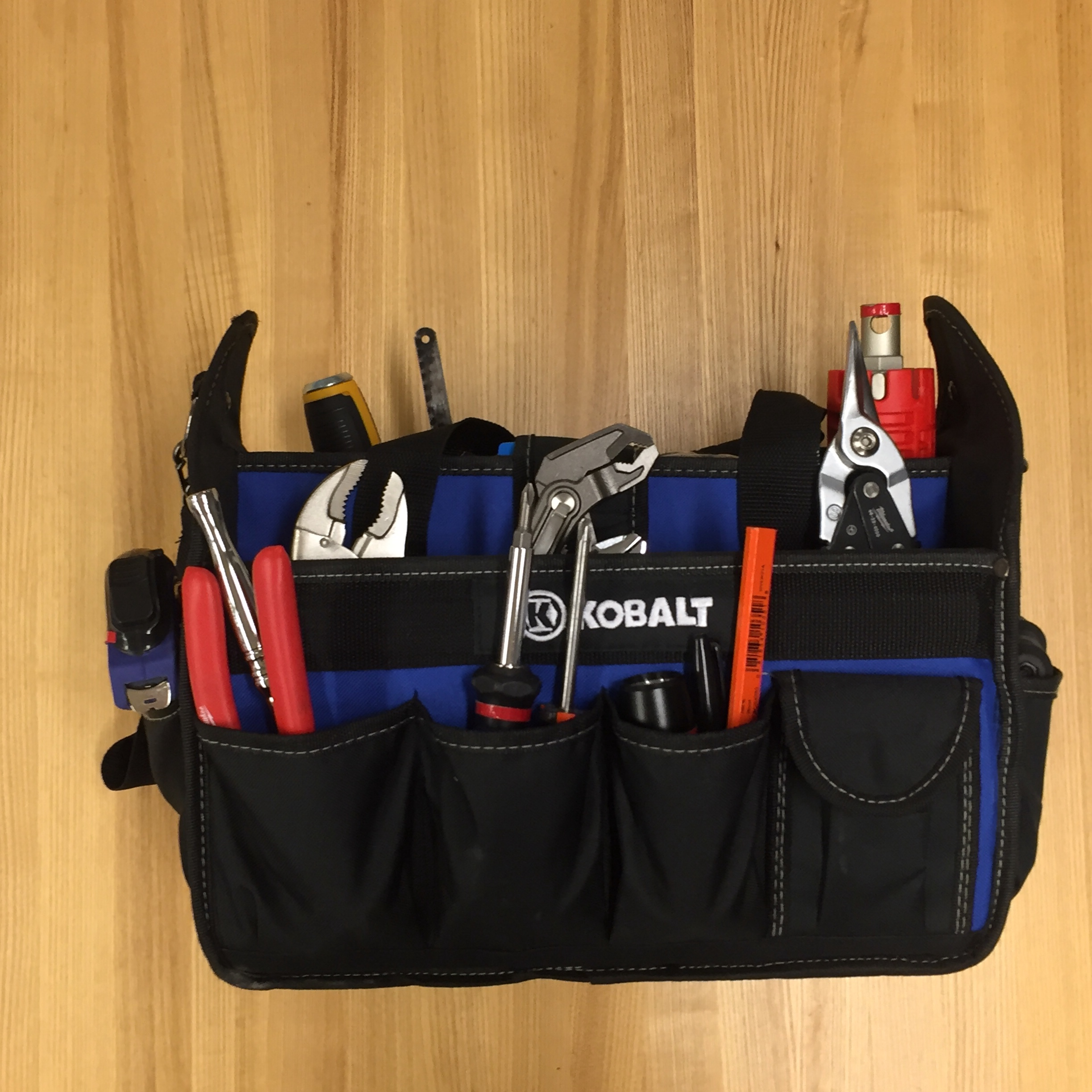 Every Fixer tool bag is filled with more than 30 tools - typically more than enough to get the job done.