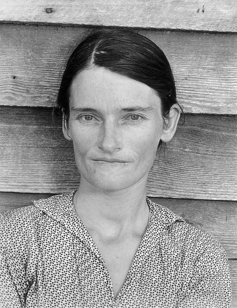 Depression Era Photograph Woman Not Smiling.jpg