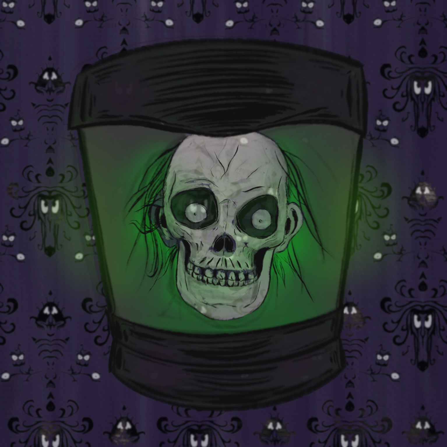 Who doesn't love the Hatbox Ghost?