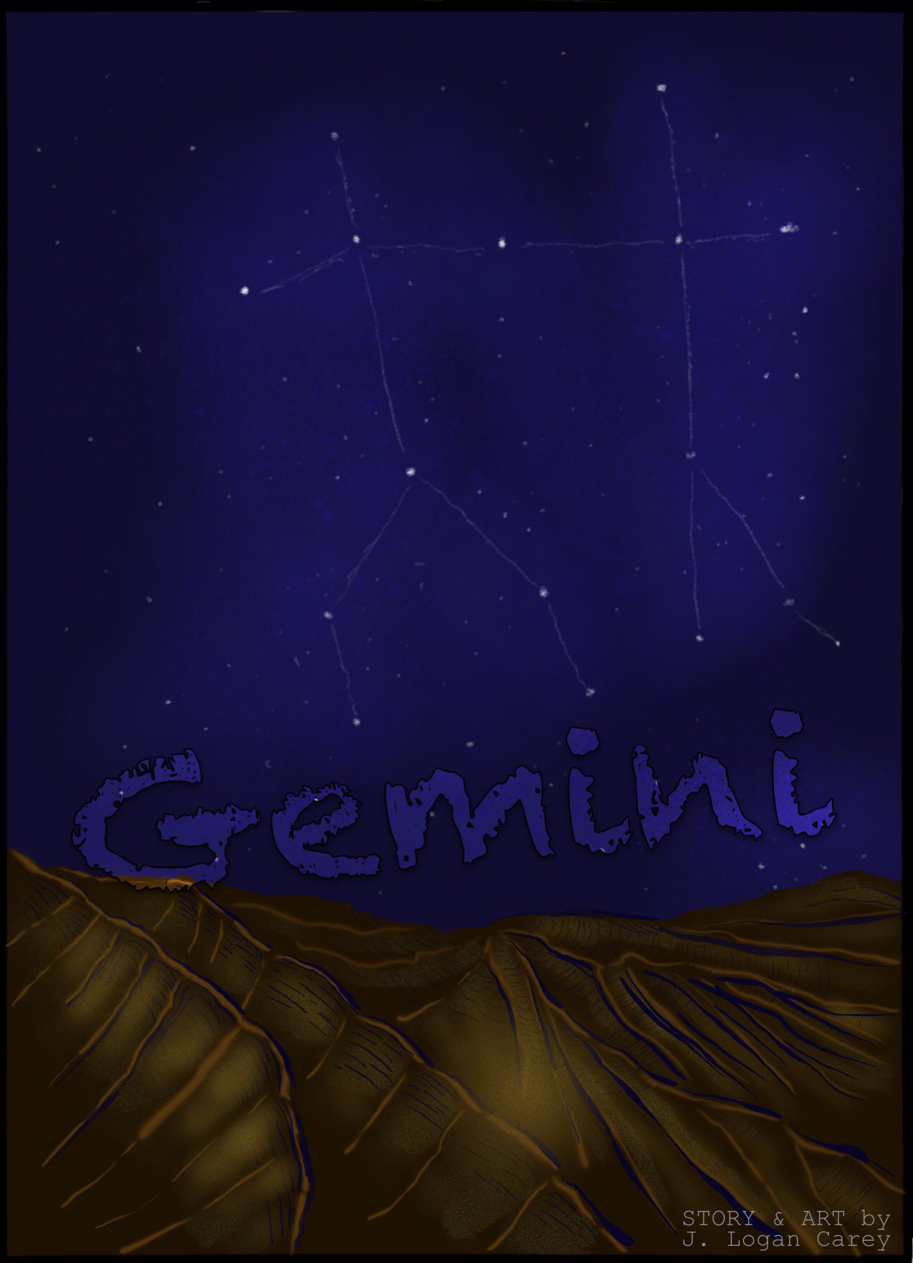 Gemini, Splash Page