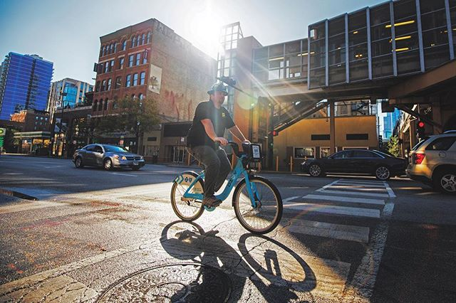 It seems like yesterday, but this year marks Steve Rudnick's 10th Anniversary with Alliance!👷🏼🚴🏼🎉 . . . A union carpenter by trade, Steve is our Director of Field Operations. Regularly visiting job sites throughout downtown (via @divvybikes), he oversees our extensive field operations—ensuring a beautifully finished space that's delivered in an ethical, safe, and timely manner. We'd like to thank him for his dedicated service and offer our congrats on this very important milestone. Thanks, Steve! . . . Fun fact. He loves cycling and his personal record is a 65-mile ride—that's the length of 1,144 football fields.