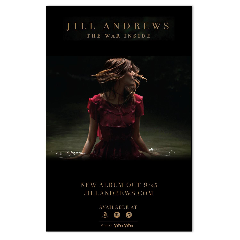 Jill Andrews Retail Poster