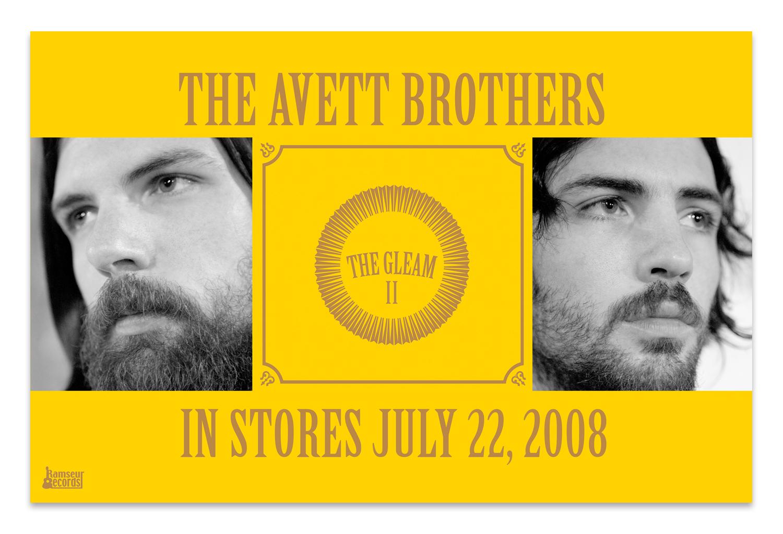 The Avett Brothers Retail Poster | Photos by Crackerfarm, Album Art by Scott Avett