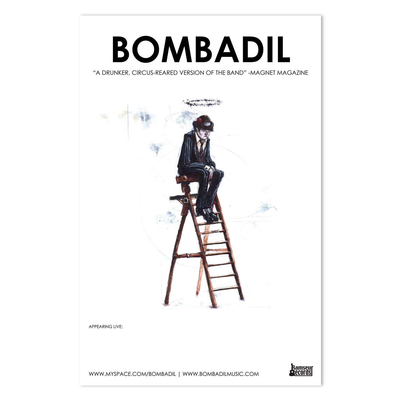Bombadil Tour Poster | Illustration by Landon Webb