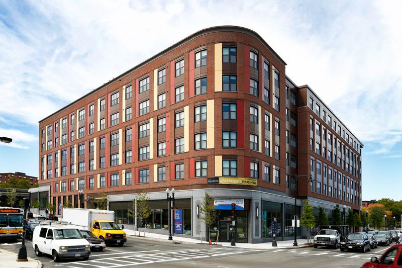 Allocation: $5.5M | TDC: $53.2M | Union Construction Jobs: 261 | Permanent Jobs: 20 | Housing Units: 103 | Commercial SF: 16,000