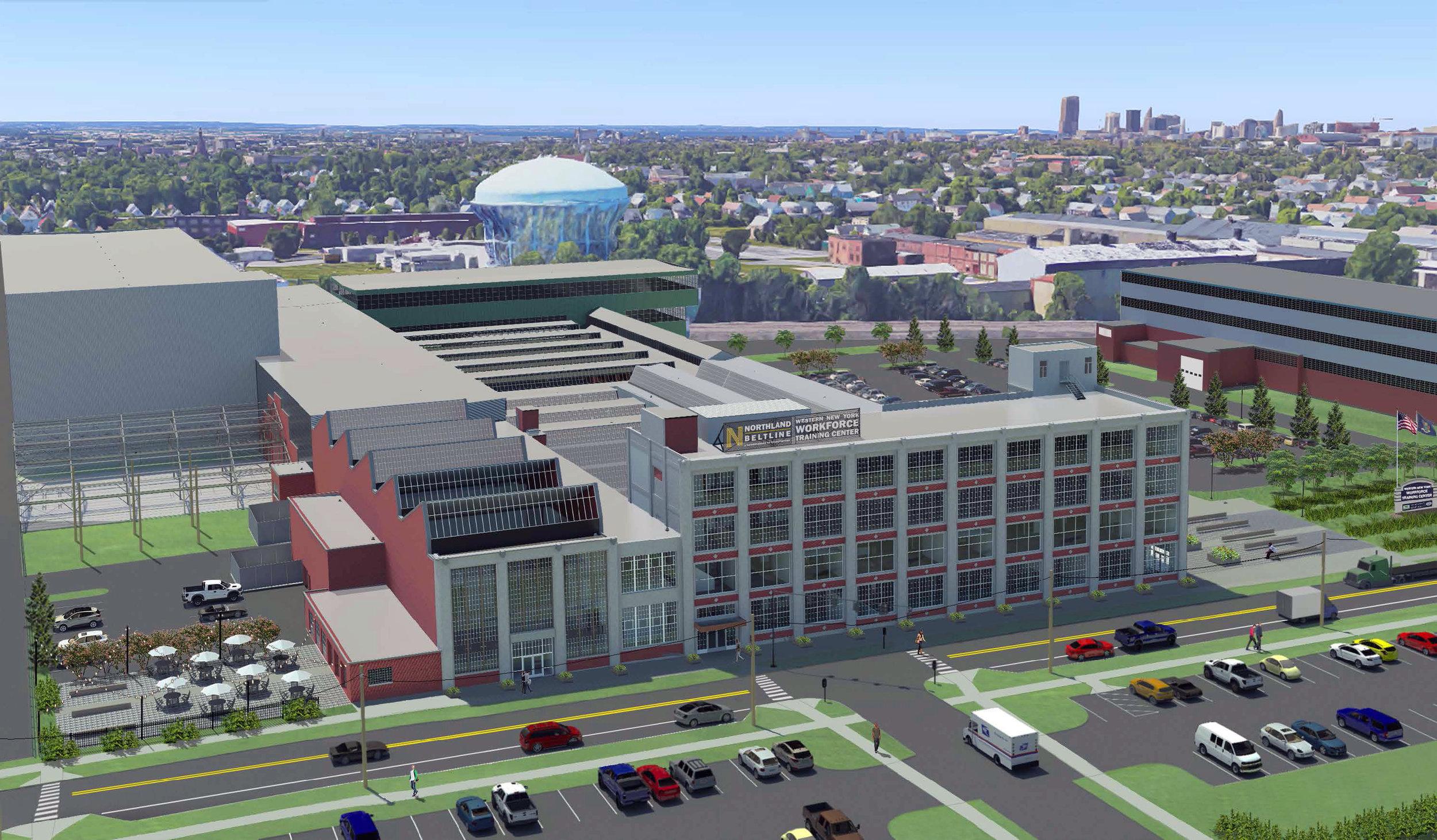 Allocation: $9M | TDC: $110.5M | Union Construction Jobs: 507 | Permanent Jobs: 193 | Commercial SF: 239,500