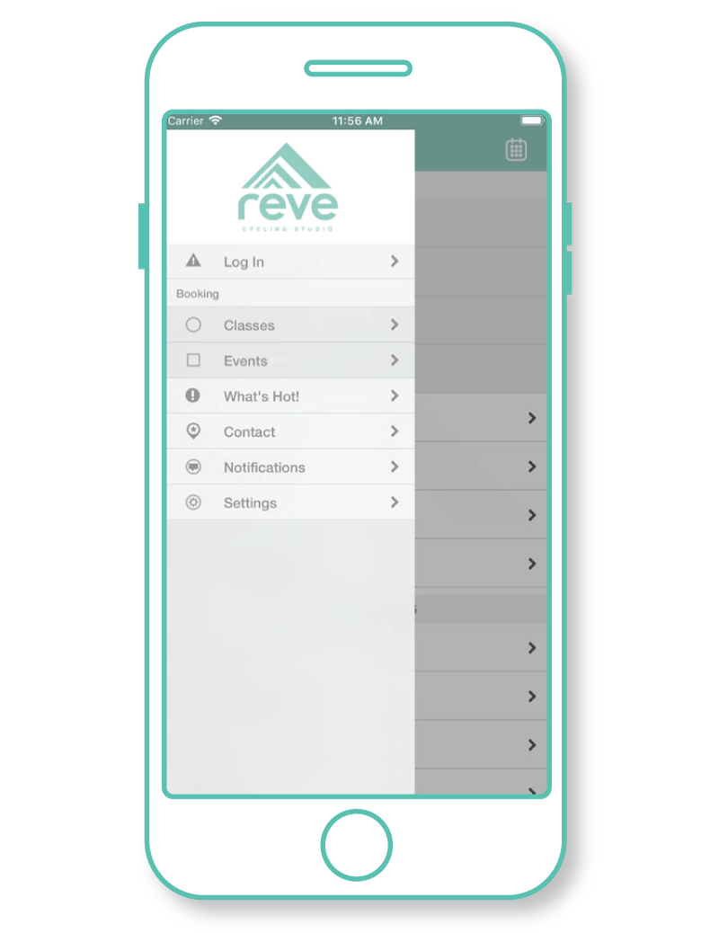Plan & Schedule Your Classes - Download the Rêve App!