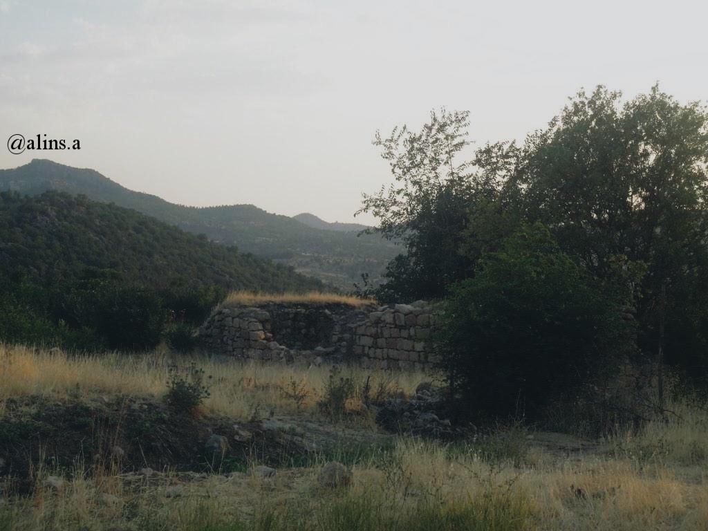 Gundê Babîrya; the old village