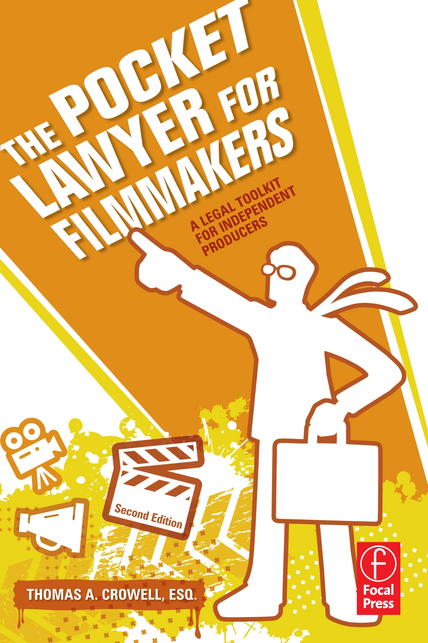 The Pocket Lawyer for Filmmakers - This no-nonsense reference provides fast answers in plain English with no law degree required! It is designed to help you reduce legal costs by providing the vital information you need to make informed decisions on the legal aspects of your film, video, and TV productions.Actors get hurt, copyrights are infringed, and contracts are broken. Big-budget producers have lawyers on retainer, but as an independent filmmaker, you are left legally exposed. Arm yourself with the practical advice of a TV-producer-turned-entertainment-lawyer.