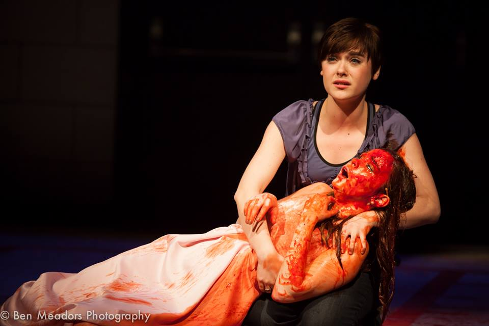 "Sue in ""Carrie"" w. Caitlin Houlihan"