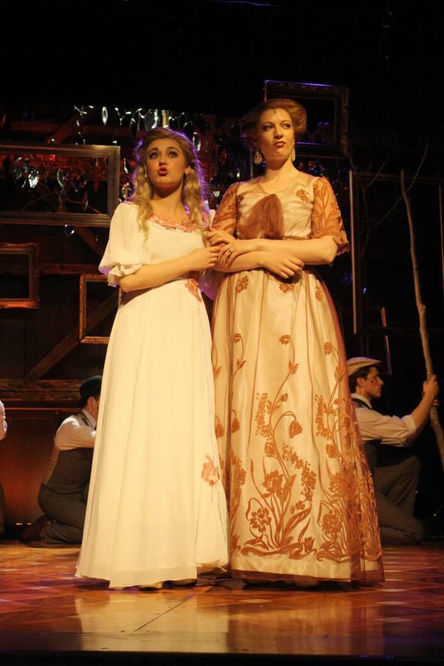 """Anne in """"A Little Night Music"""" w. Katie Breustal"""