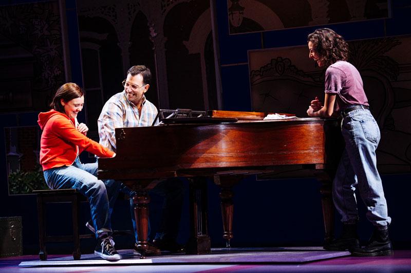 "Medium Alison in ""Fun Home"" at Portland Center Stage w/ Robert Mammana and Kristen DiMercurio"