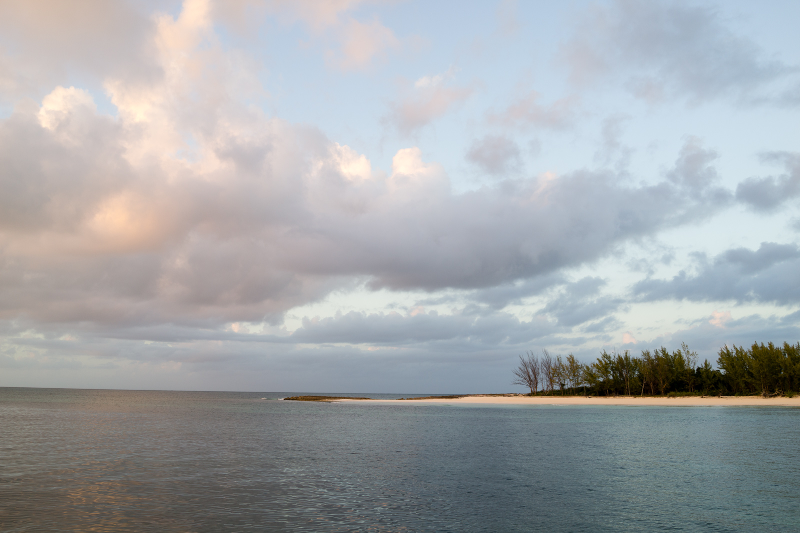 Our very own private beach on Manjack Cay.
