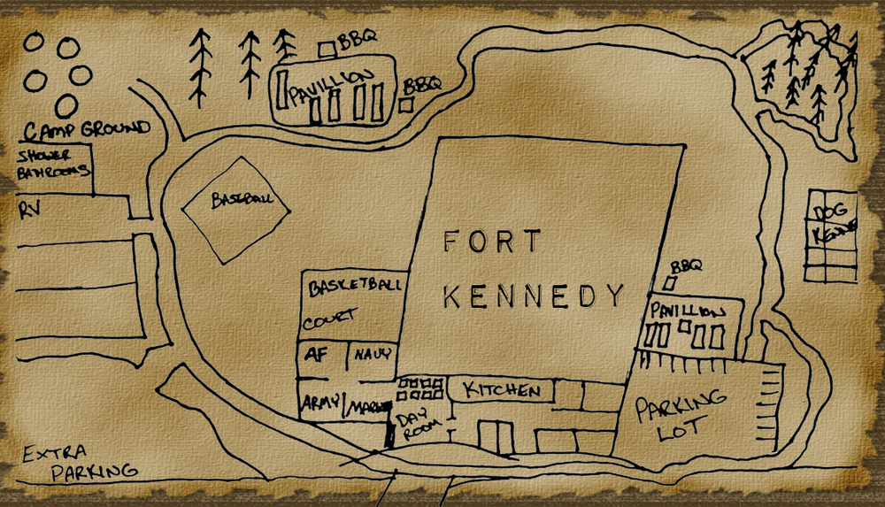 Tina's Dream for Fort Kennedy center, this is on the horizon.