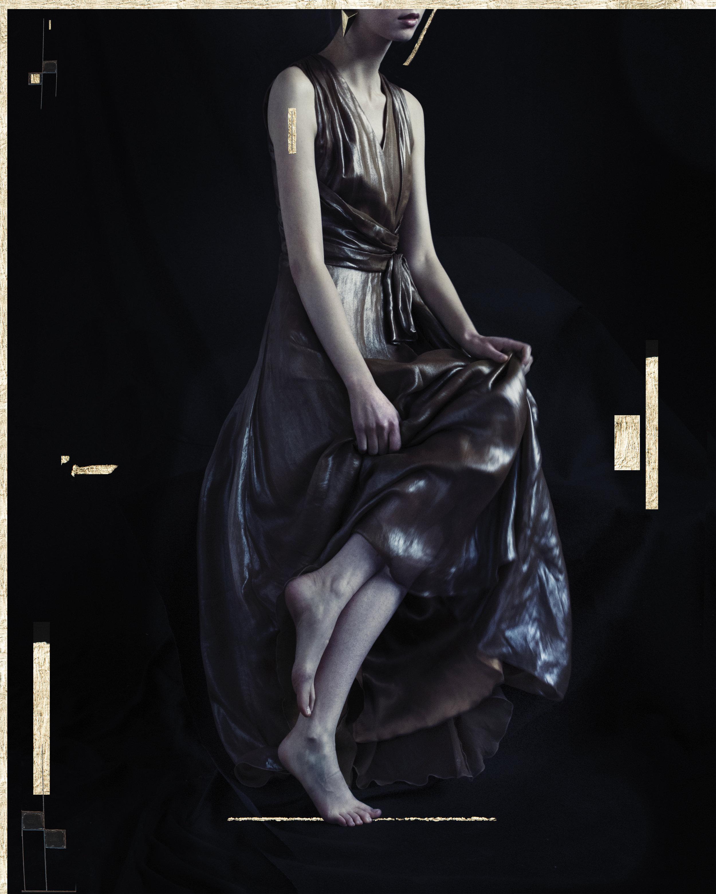 Dress: Charo Azcona  Earrings: Vintage Archive