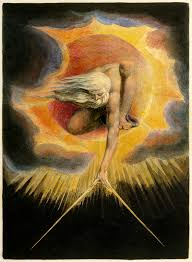 """William Blake's """"Ancient of Days"""" has been interpreted by some as a depiction of the Demiurge."""