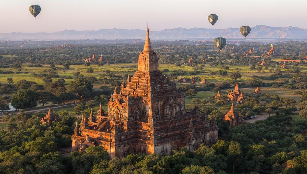 Pyramid Sulamani Temple Began Burma.jpg