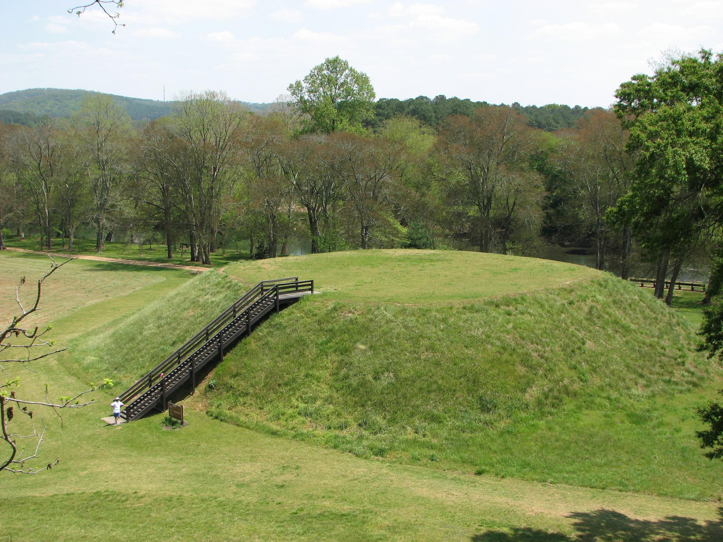Sites Etowah Indian Mounds Mound B Georgia.jpg