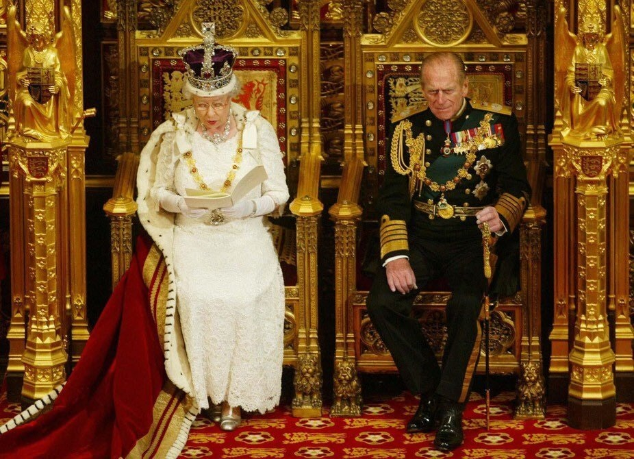 Queen Elizabeth talking about Poverty