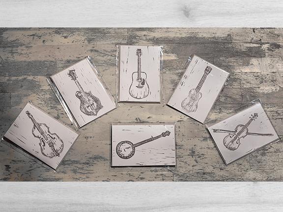 Instrumental Greeting cards -