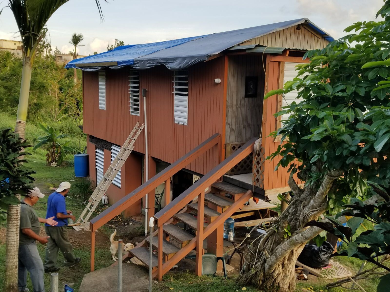 - Capital Concrete, Inc. helps the people of Puerto Rico. Contributions were made toward the TARPS (Toldos pa` mi gente) program, which means