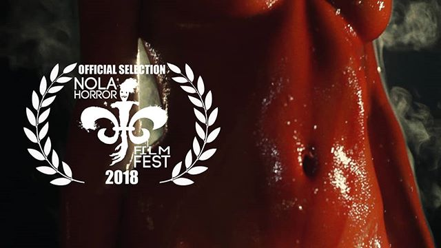 EXSANGUINATA has been selected as part of the 2018 @nolahorrorff  We're incredibly honored to be included!  #exsanguinata #exsanguinatafilm #blood #bloodmagic #bloodritual #countessbathory #bathory  #shortfilm #horrorfilm #horror #silentfilm #sabbathassembly #gretchenheinel #nolahorrorfilmfest #nolahorror #nolahff #officialselection