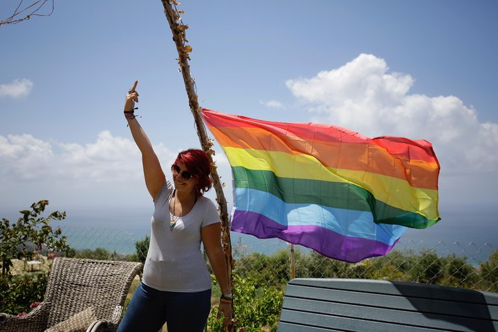 Lebanon became the first Arab country to hold a gay pride week last year. (IBRAHIM CHALHOUB VIA GETTY IMAGES)