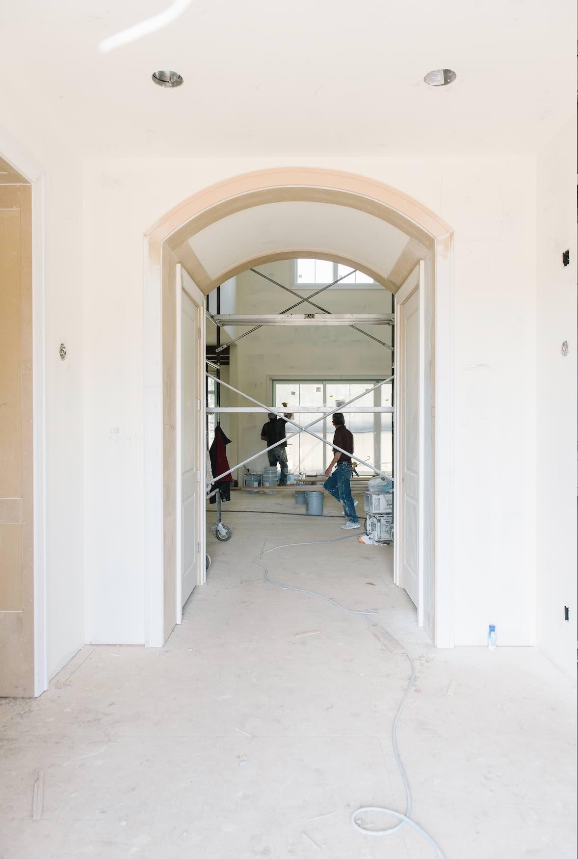 FOYER - JUST INSIDE FRONT DOOR