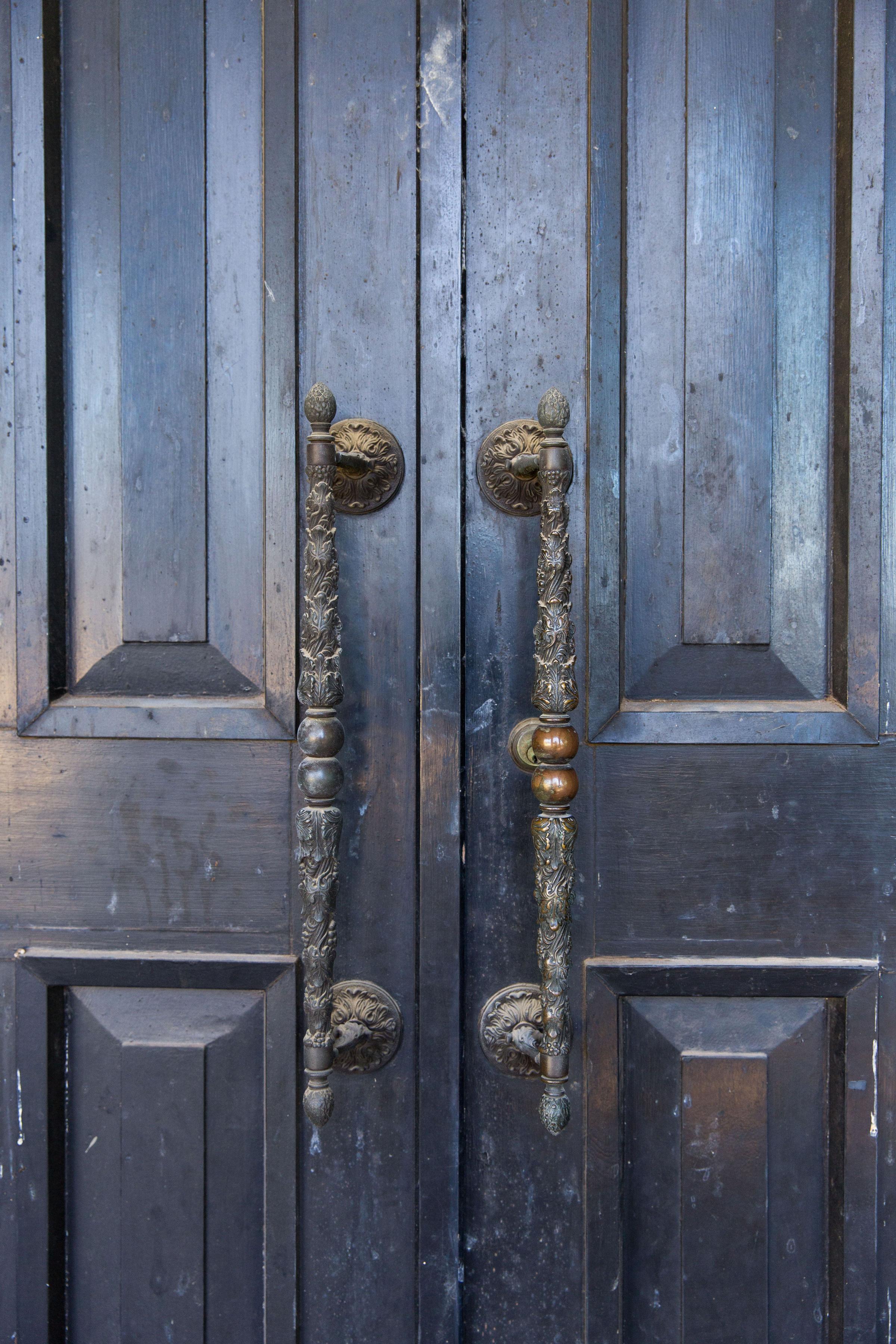 1960'S ORIGINAL FRONT DOOR