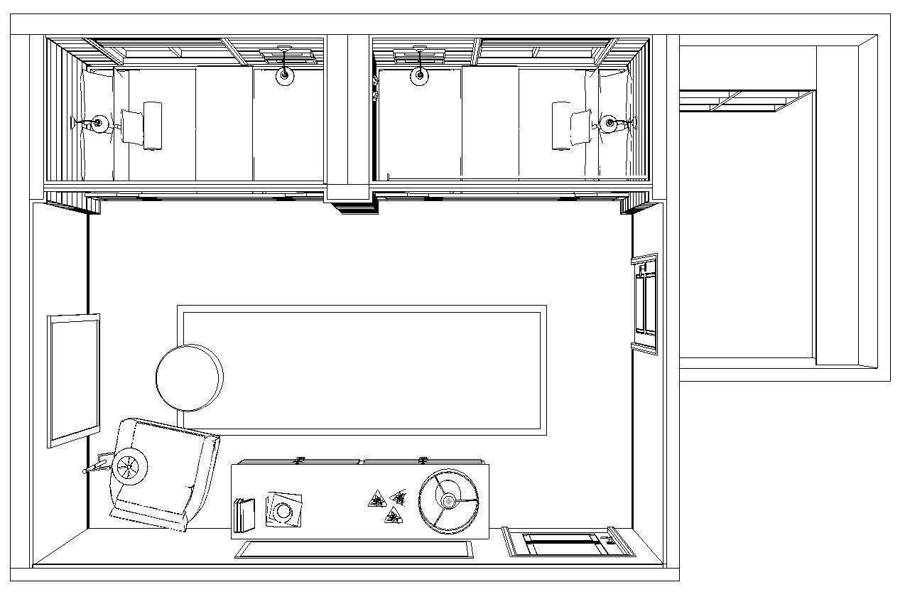 TRUNDLE BED PERSPECTIVE PLAN