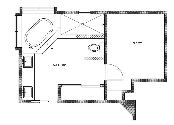 Master Bathroom Remodel For A Custom Home Tami Faulkner Design