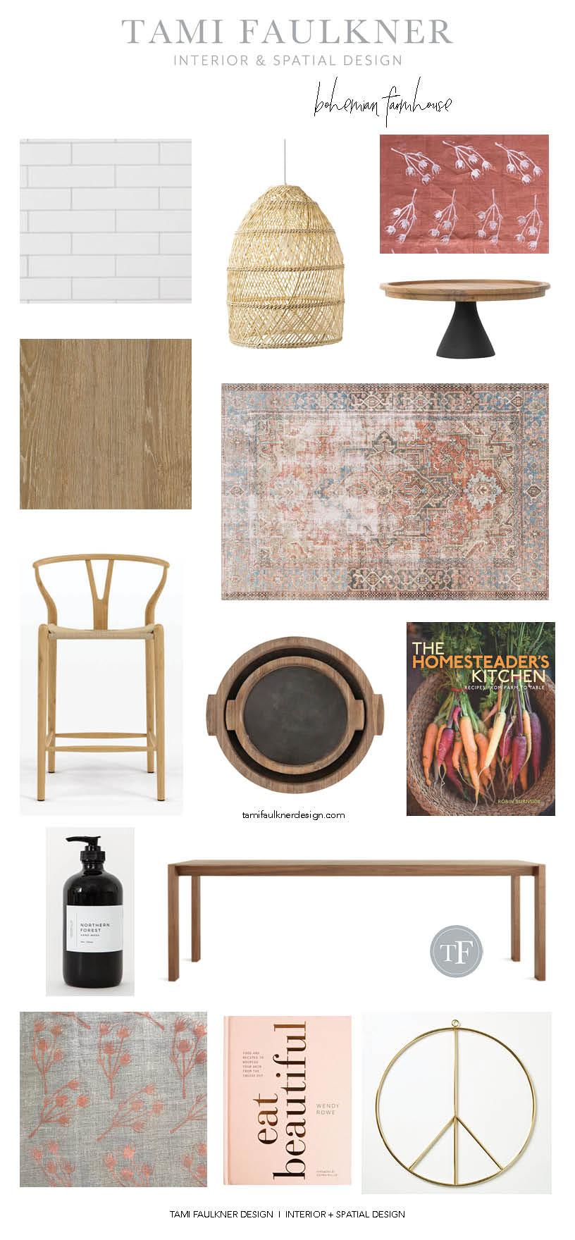 Bohemian farmhouse tami faulkner design farmhouse floor plans, sacramento interior designer