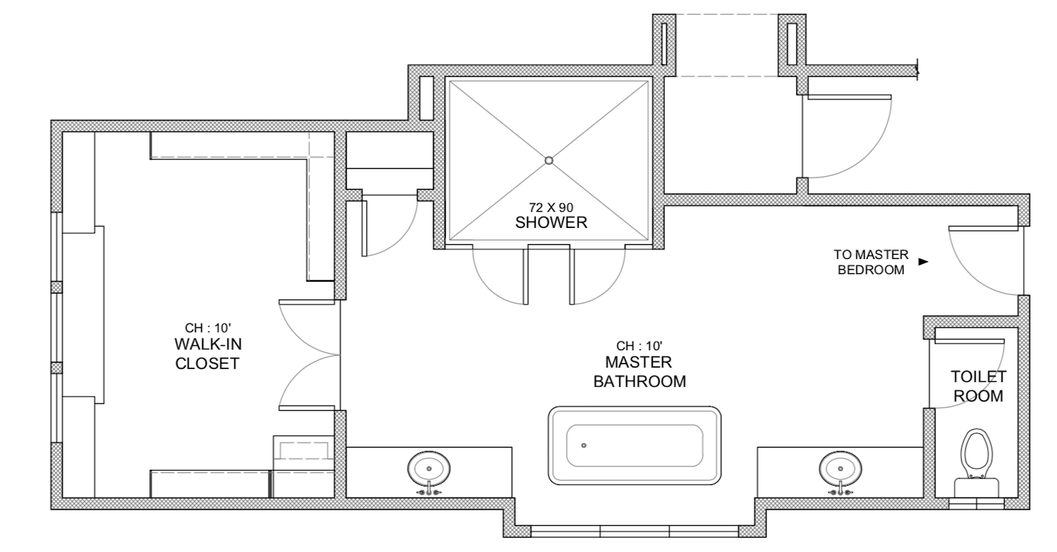 Getting The Most Out Of A Bathroom Floor Plan Tami Faulkner Design