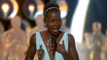 Preparation pays off when the spotlight is on you.  Lupita Nyong'o Wins Oscar for Best Supporting Actress in 2014.